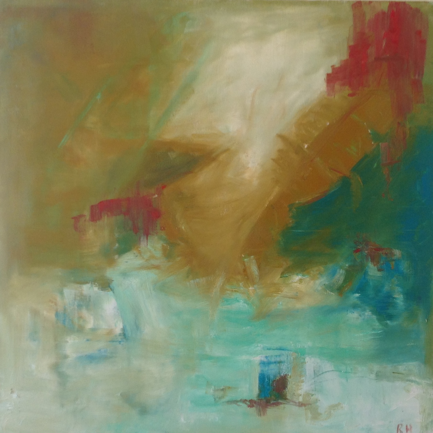 Untitled, oil on canvas, 30 x 30 inches, 76 x 76 cm