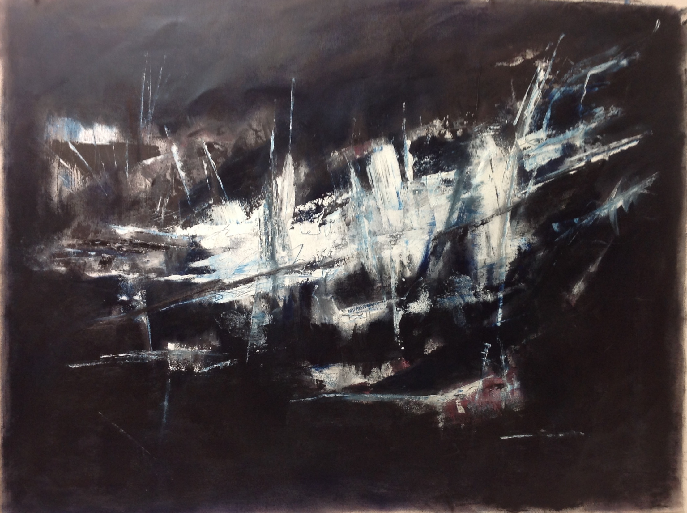 Untitled, oil on canvas, 28 x 38 inches - 78 x 95 cm
