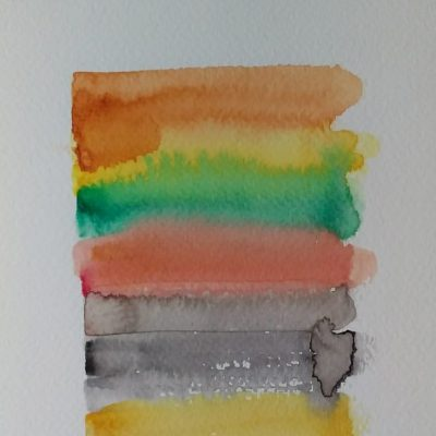 #2, 2019, watercolor, 21 x 15 cm